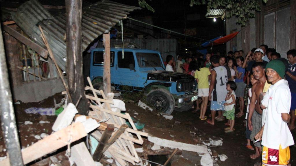 Terremoto en Filipinas. Foto: EFE