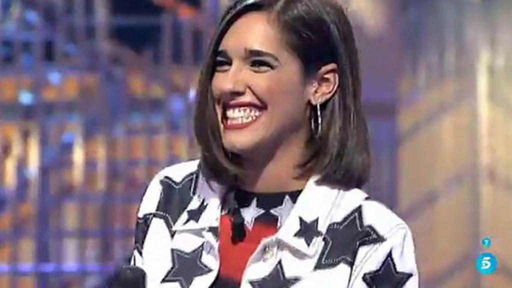"""Lucía: """"Voy a empezar mi carrera musical, y mejor así que en deportivas y de ancho"""""""