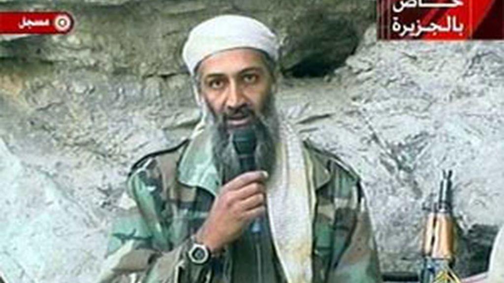 Osama Bin Laden, en una imagen de archivo en la que aparece en un vídeo.