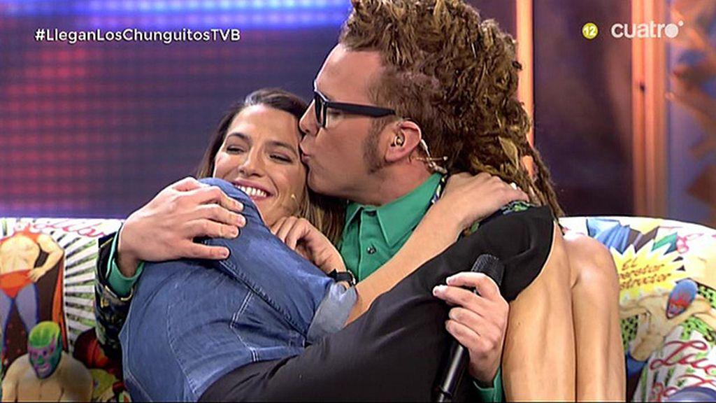 Torito y Laura intentan imitar el baile de Nagore en 'Mujeres y hombres y viceversa'