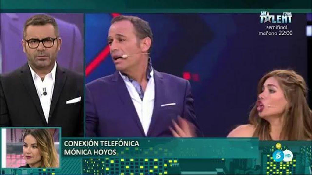 Mónica Hoyos aclara por qué su hija no estuvo en plató el día de la final