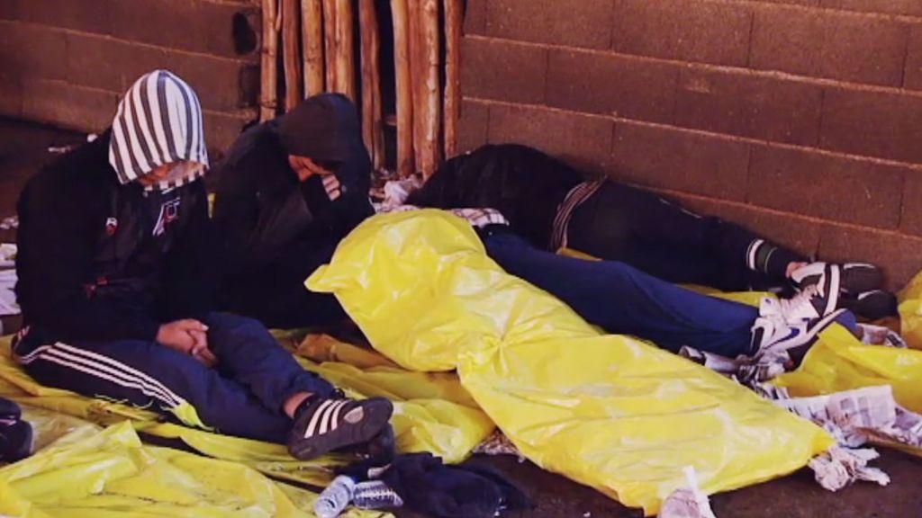 Primer día en el campamento
