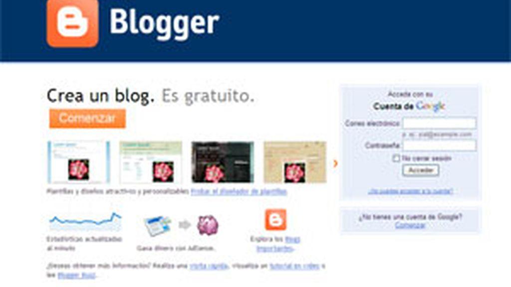 Blogger falla desde el pasado día 11.