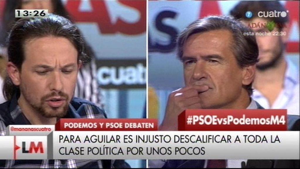 """Pablo Iglesias: """"El PSOE no puede ganar al PP, le podemos ganar nosotros"""""""