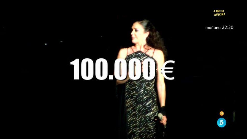 Isabel Pantoja podría volver a los escenarios en septiembre en Barcelona