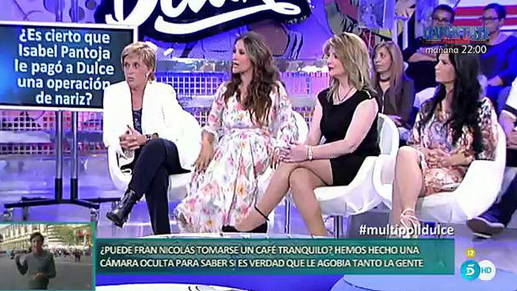 Isabel Pantoja le pagó una operación de nariz a Dulce por estética