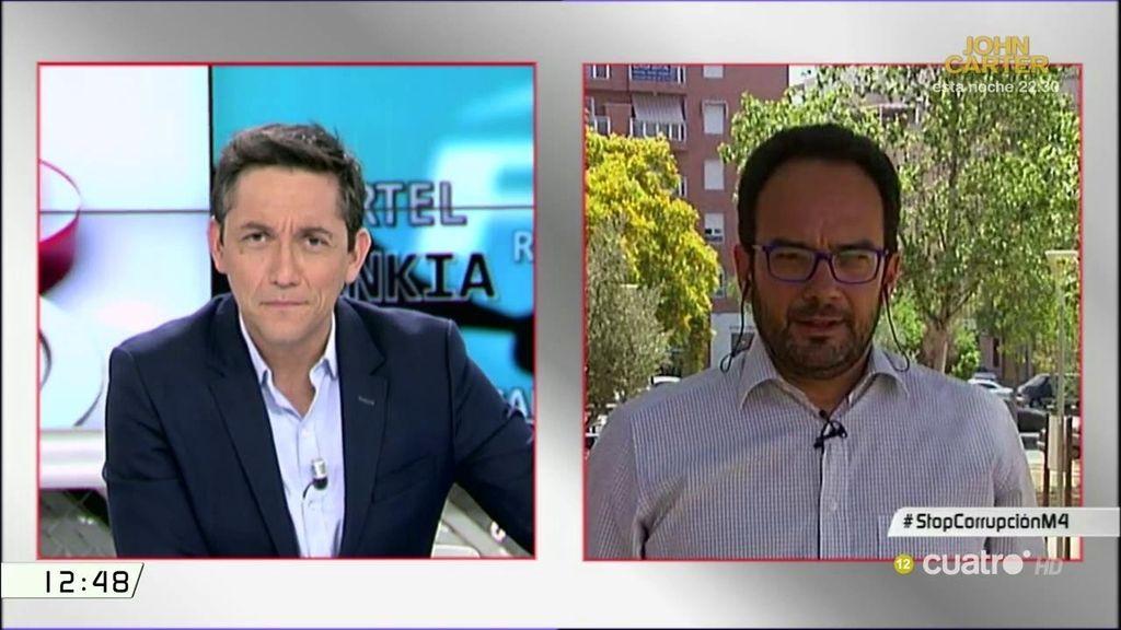 """Antonio Hernando, de Rajoy: """"Esta noche no está delante de un plasma, es un debate en el que tendrá que dar la cara"""""""