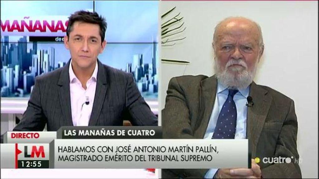 """J.A. Martín Pallín, sobre el caso de los titiriteros: """"Creo que el juez ha hecho un flaco servicio al sentido de la justicia"""""""