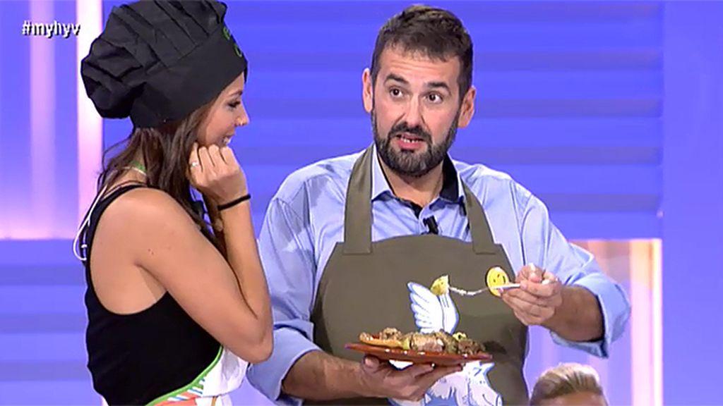 Anais y la chuletada canaria
