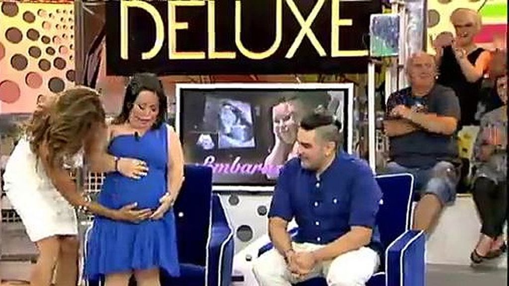 ¡Chiqui está embarazada!