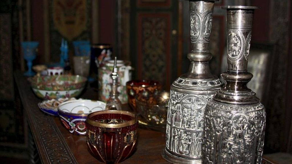 En la imágen, antigüedades originarias de Irak. EFE/Archivo