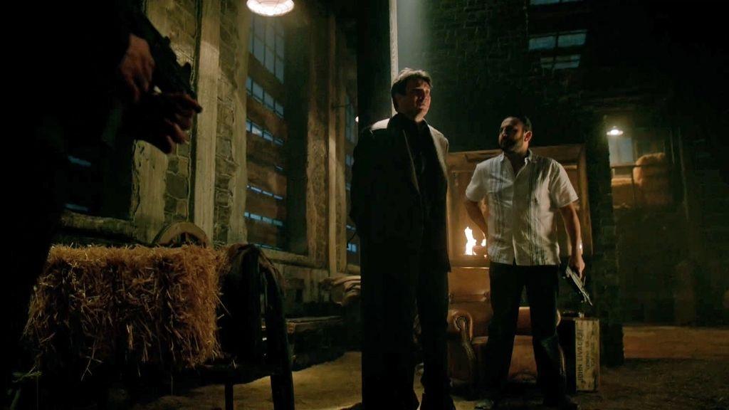 'El Oso', líder del mayor cártel de la droga, secuestra a Castle sin motivo aparente