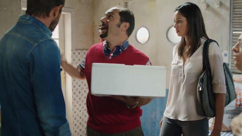 Recio visita el chiringuito y anuncia el estreno de la nueva temporada 'La que se avecina'