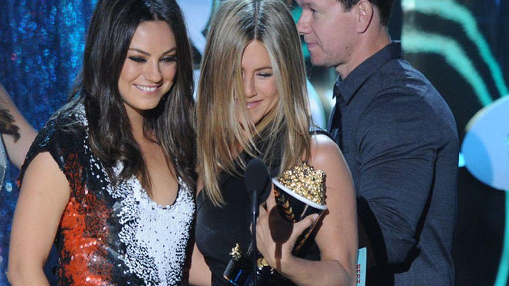 Jennifer Aniston y Mila Kunis