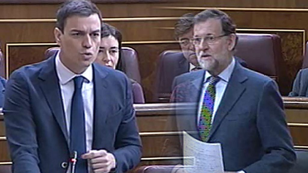 Rajoy y Sánchez cruzan acusaciones sobre corrupción en la sesión de control