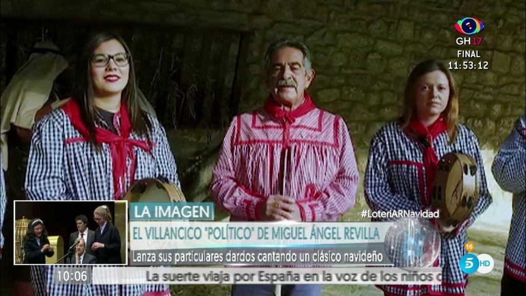 El particular villancico 'político' de Revilla