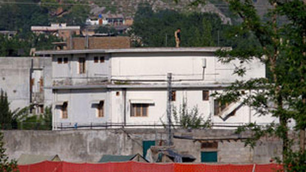 La casa donde se ocultaba Osama Bin Laden. Foto:Gtres