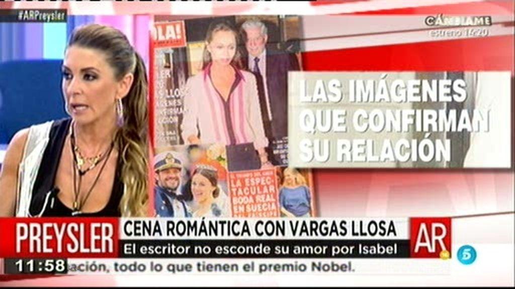 Isabel Preysler y Mario Vargas Llosa podrían llevar tres meses juntos