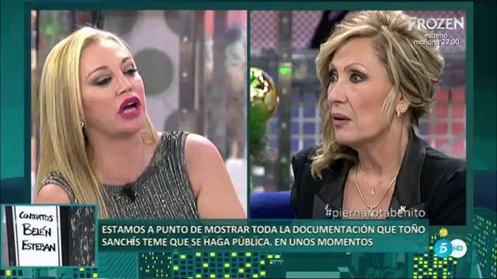 """Rosa Benito: """"En 6 meses Toño Sanchís no me ha dado trabajo"""""""