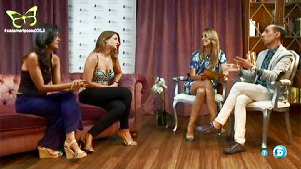 El estilo de Esther Cañadas y Bimba Bosé, a examen en 'Asamblea Fashion'