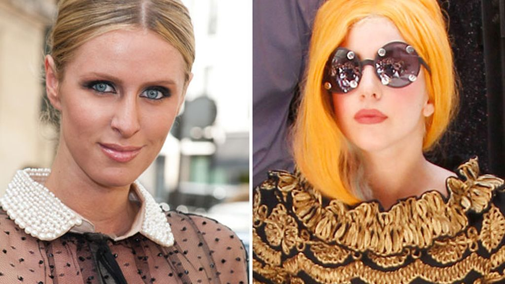 Nicky Hilton y Lady Gaga