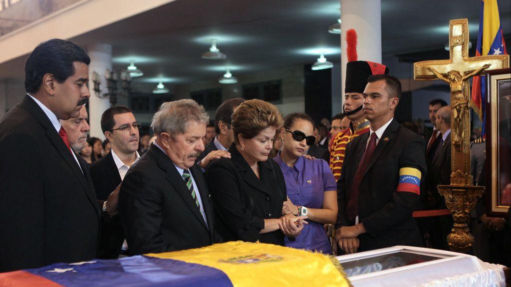 Mandatarios latinoamericanos despiden a Chávez