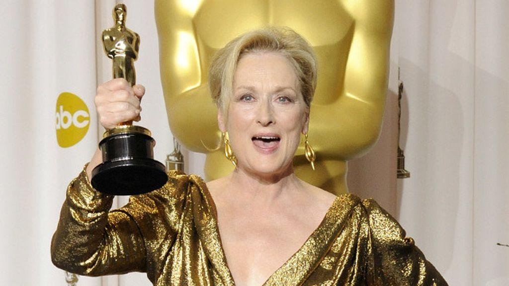 Meryl Streep, Mejor actriz protagonista por 'La dama de hierro'