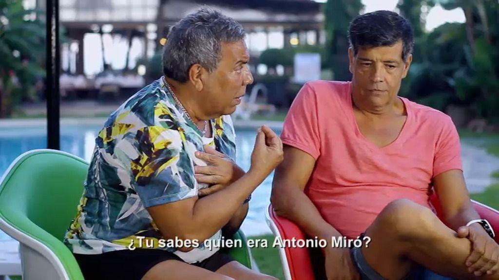 """Los Chunguitos confunden a Antonio Miro con Joan Miró: """"Tiene cuadros en Madrid"""""""