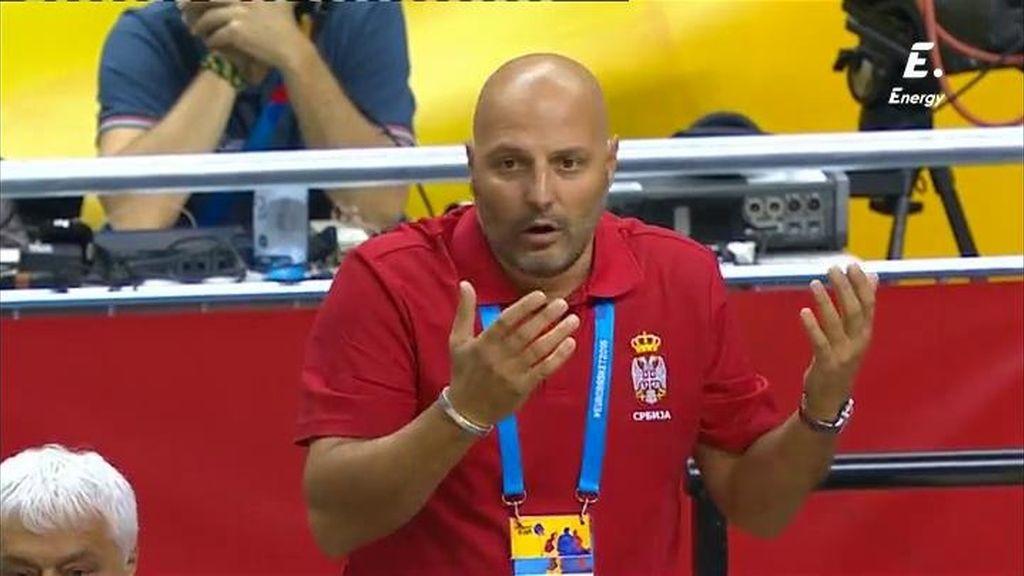 ¡Djordjevic no se sexplica un error de Bogdanovic y le echa la bronca de su vida!