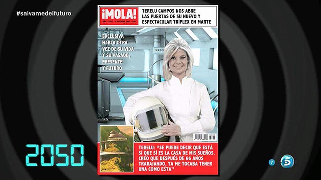 La portada de Terelu en '¡Mola!'