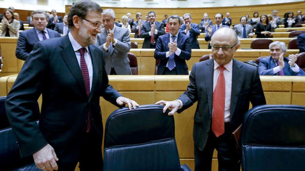 Rajoy en el pleno del Senado