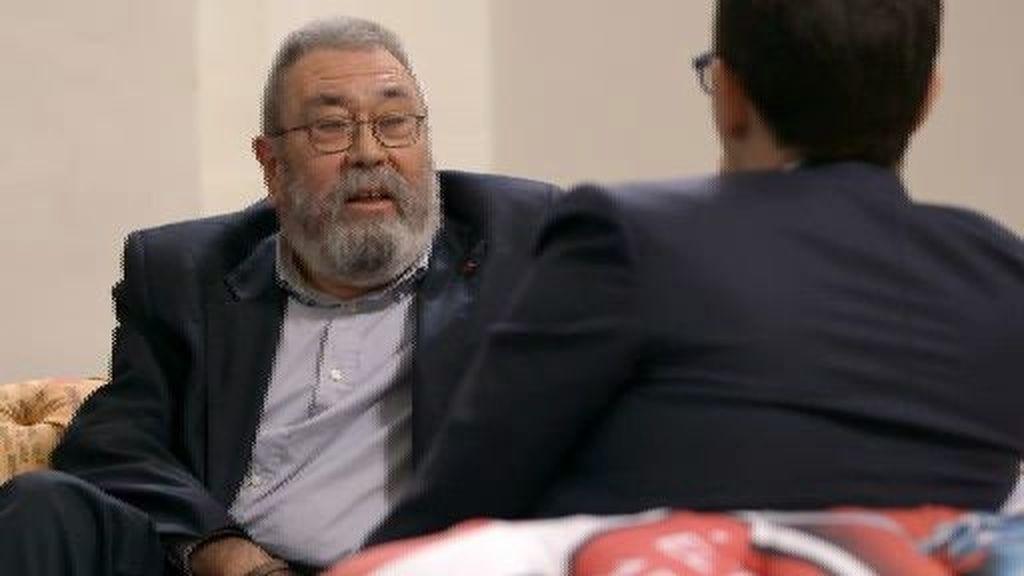 "Cándido Méndez: ""He dado todo lo mejor que tengo por sacar adelante mi organización"""