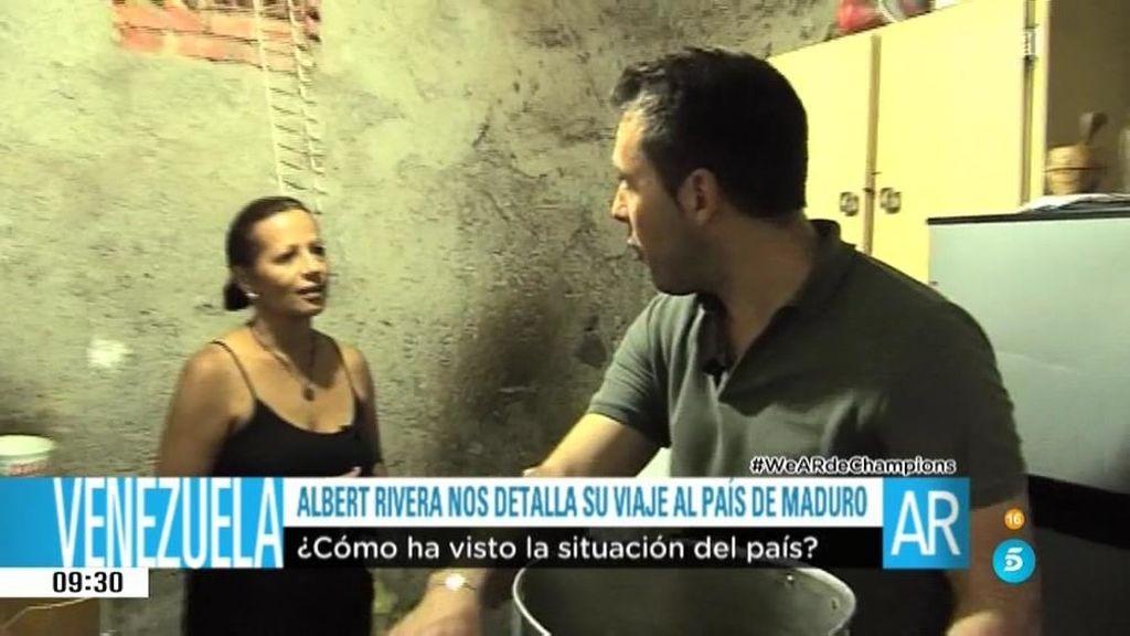 """Una ciudadana venezolana:""""Me duermo preocupada pensando qué comer mañana """""""
