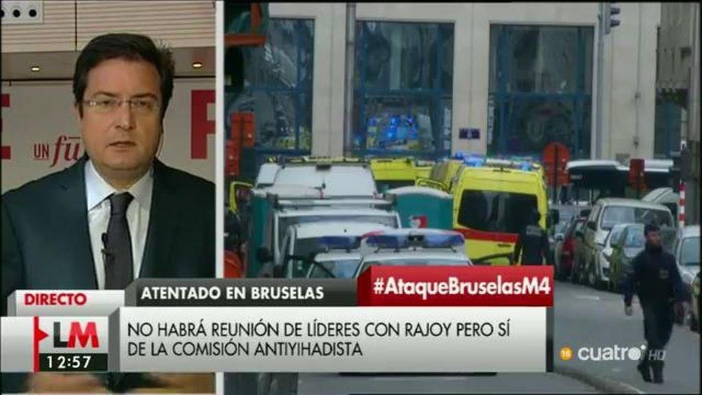 """Óscar López: """"La respuesta al yihadismo tiene que venir de la unidad de los demócratas"""""""