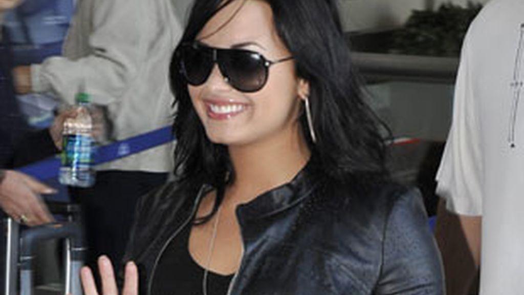 Demi Lovato, soltera. Foto: EFE