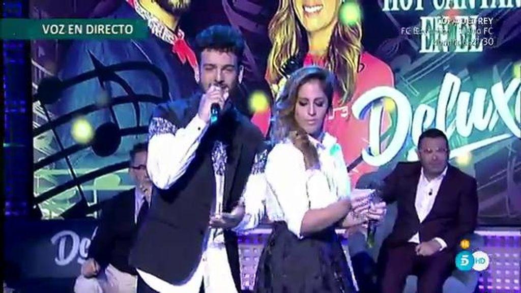 Anabel Pantoja y Manuel Cortés actúan en directo en el 'Deluxe'