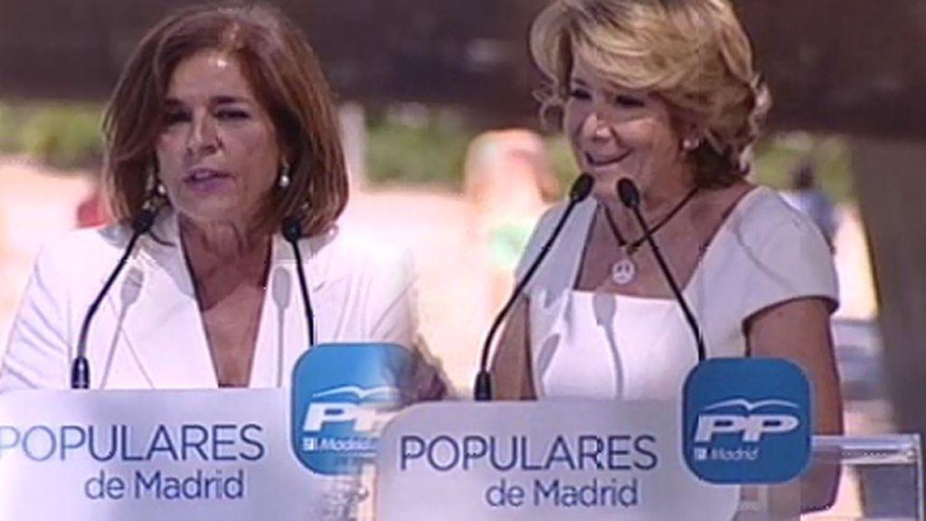 """Botella responde al discurso de Aguirre: """"Madrid puede ser más segura, más verde, pero más libre lo dudo"""""""