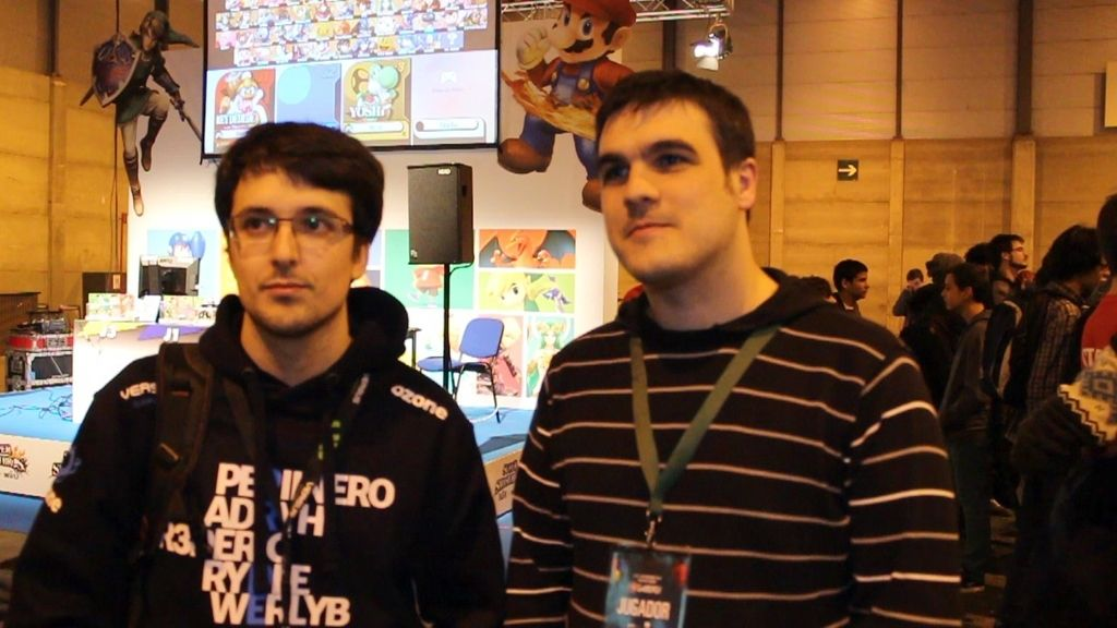"'Rydle' y 'MarcBri': ""Super Smash Bros es tan competitivo como divertido"""