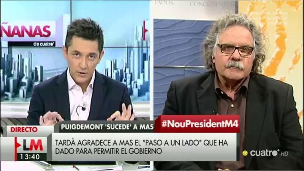 "Joan Tardá: ""Estamos entusiasmados"""