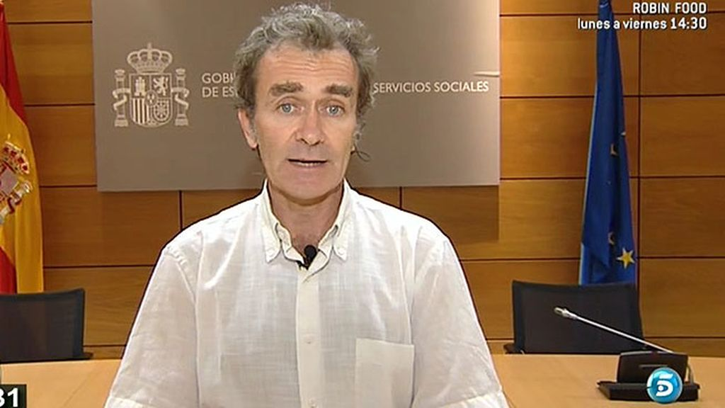'AR' habla con Fernando Simón, coordinador alertas sanitarias