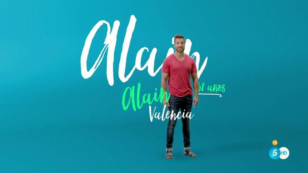 """Alain: """"Me encanta el amor y podría encontrar a la mujer de mi vida en 'GH 17"""""""
