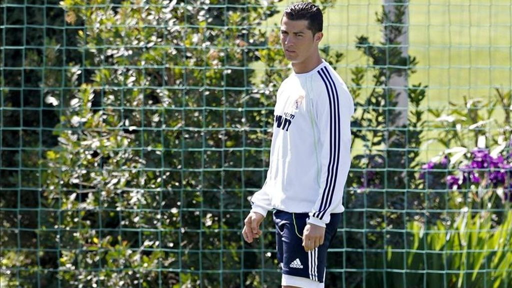Cristiano Ronaldo mostró la mentalidad con la que el Real Madrid afronta el primero de los cuatro Clásicos. Vídeo: Informativos Telecinco