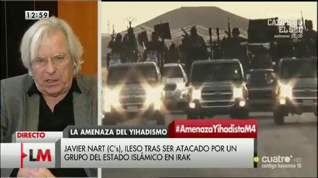 """Javier Nart: """"Cuando le dije al conductor que volviera, escuché la explosión"""""""
