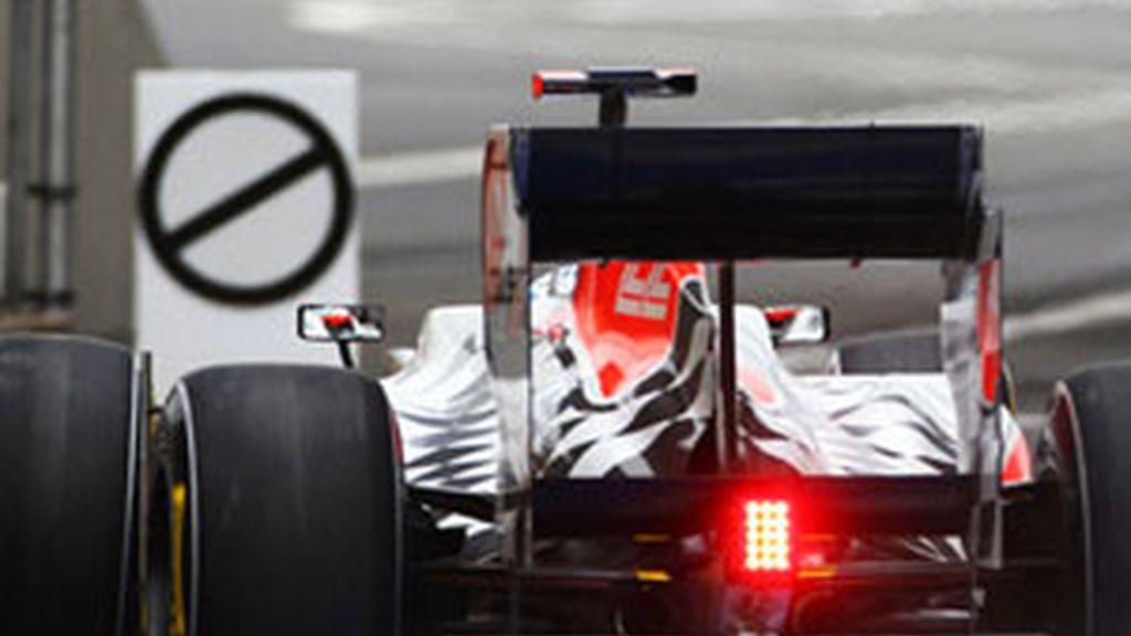 Hispania Racing lucha por acercarse a sus rivales. Foto: AP