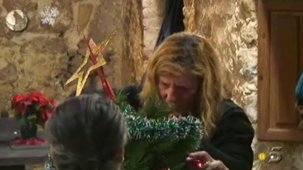 Los concursantes celebran la Navidad en la granja