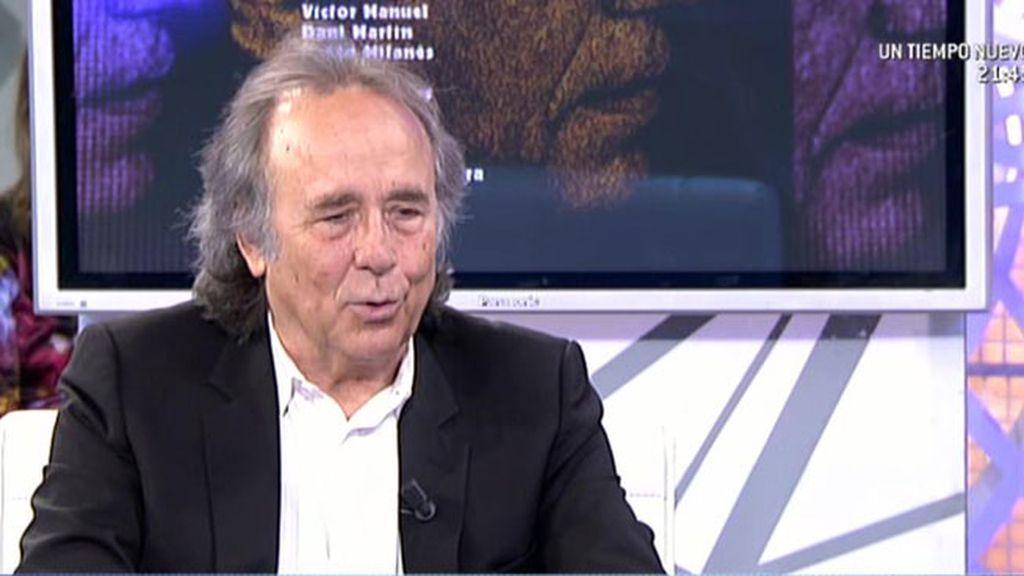 """Serrat, sobre Cataluña: """"El Gobierno debería entender que es algo prioritario"""""""