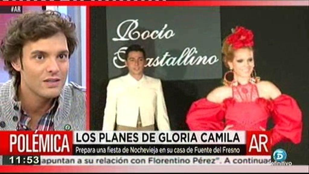 Gloria Camila prepara un fiesta de Nochevieja en casa de su padre
