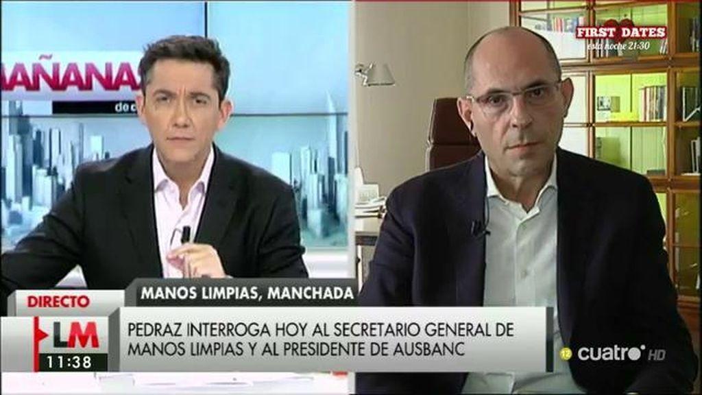 """E. Silva, sobre 'Manos Limpias': """"Si era algo que se sabía con una cierta constancia se tendría que haber investigado"""""""
