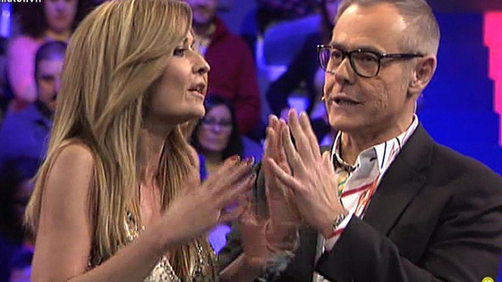 """Olvido Hormigos, a Jordi: """"Si me preguntas por Belén que hago, ¿hablo o me callo?"""""""