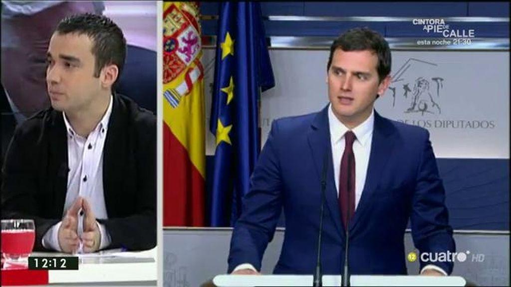 """Pablo Yáñez (C's): """"Tanto Rajoy como Iglesias van a tener difícil manejarse en la nueva etapa política de consensos"""""""